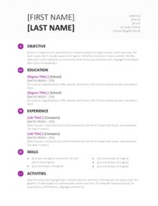 CV Opmaak   Tips voor de Layout van je CV   Afgestudeerd En Dan?