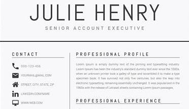 Hoe vermeld je personalia op je CV?   Afgestudeerd En Dan?
