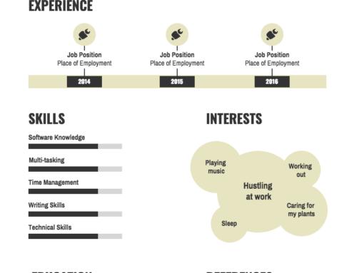 Creatief CV – Zo maak je een origineel CV